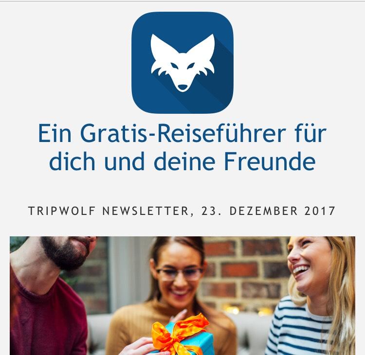 Tripwolf - Gratis Reiseführer