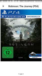 Robinson The Journey PS4 PSN Januar Angebote