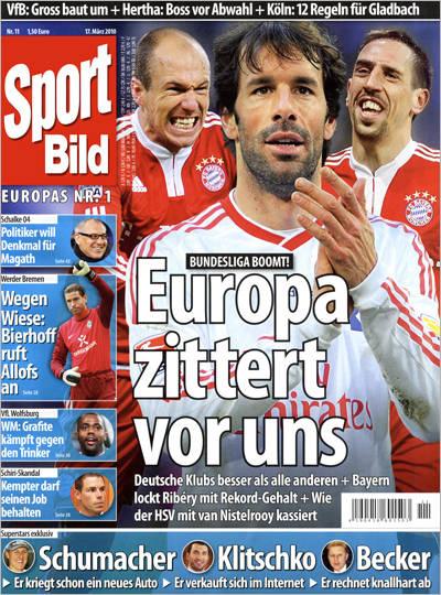 Sport Bild 4 Ausgaben gratis & selbst endend (wird in der Bestellbestätigung erneut bestätigt)  beim Lesershop24