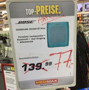 [lokal Berlin Köpenick] Bose Soundlink color