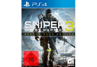 Sniper: Ghost Warrior 3 Season Pass Edition (PS4) Amazon.de & Saturn.de 19,99 Euro