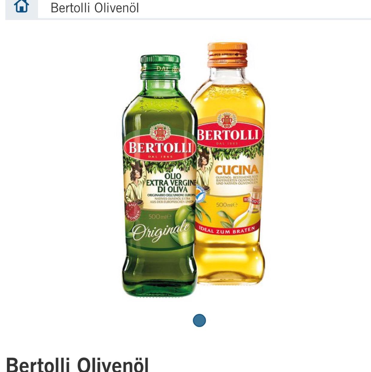 Bertolli Olivenöl Lokal Lidl ab Mittwoch