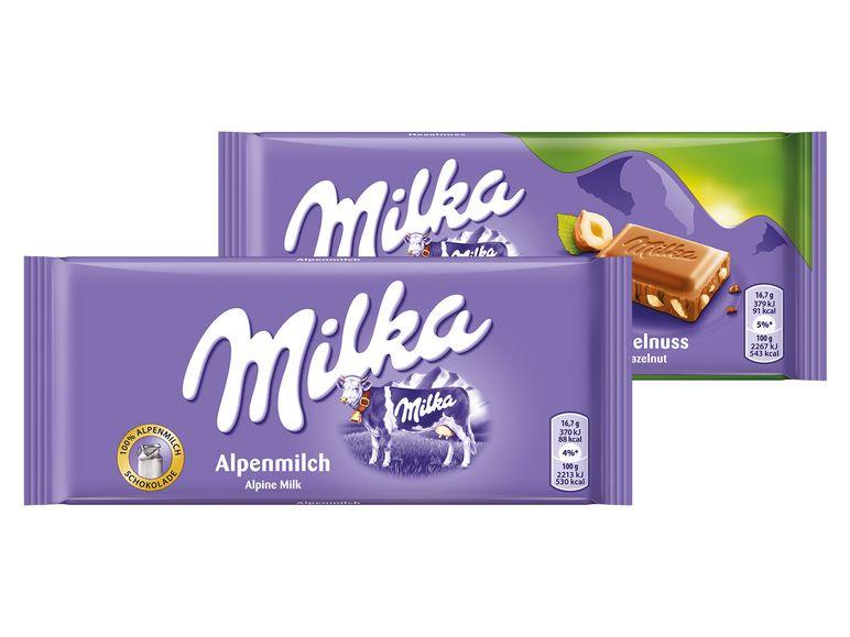 [LIDL] Milka Schokolade, verschiedene Sorten, ab 27.12.17