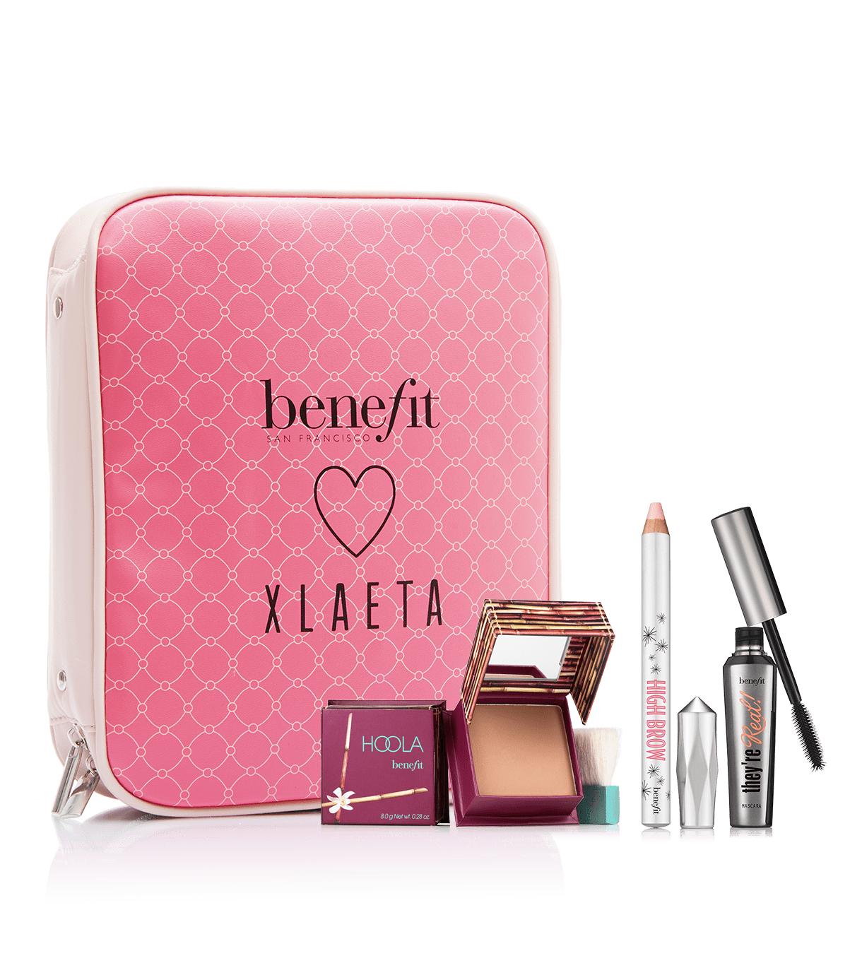 Benefit x Xlaeta beauty bag