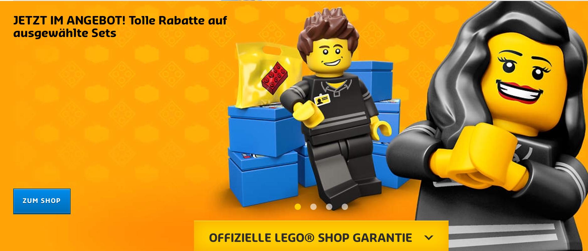 Ausverkauf im Lego Shop (30%-50%) *Sammeldeal*