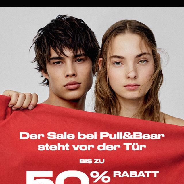 Sale bei Pull & Bear bis zu 50% + Gratis Versand