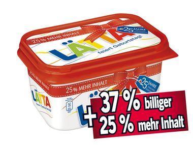 [Lidl] Lätta 625 Gramm Becher für 99 Cent