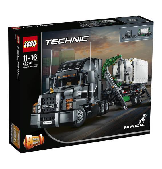 nur heute: Galeria Feiertagsangebot LEGO Technic Mack Truck (42078)