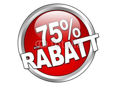 Bei allen IhrPlatz Filialen ab Heute 75% auf das gesamte Sortiment.
