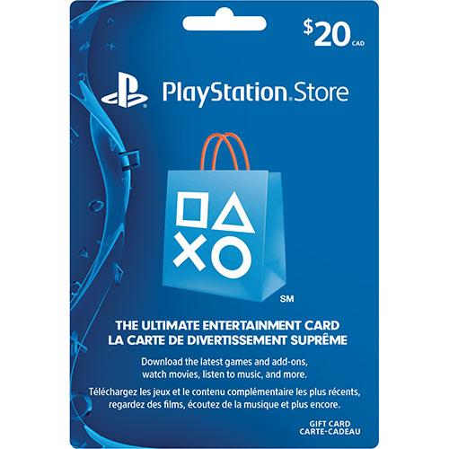 20$ CAD PSN Guthaben (PS4/PS3/CA) für 12,12€ (PCGamesSupply)