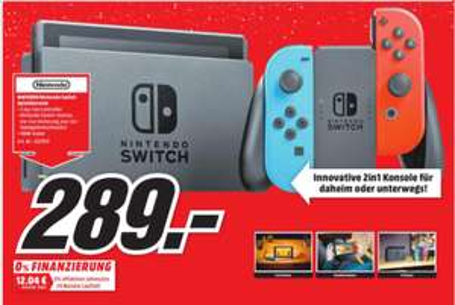 Lokal Halle Peißen - Media Markt - Nintendo Switch