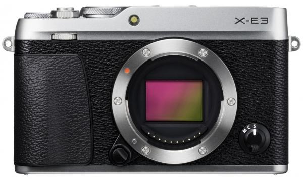 Fujifilm X-E3 Gehäuse silber & Tasche