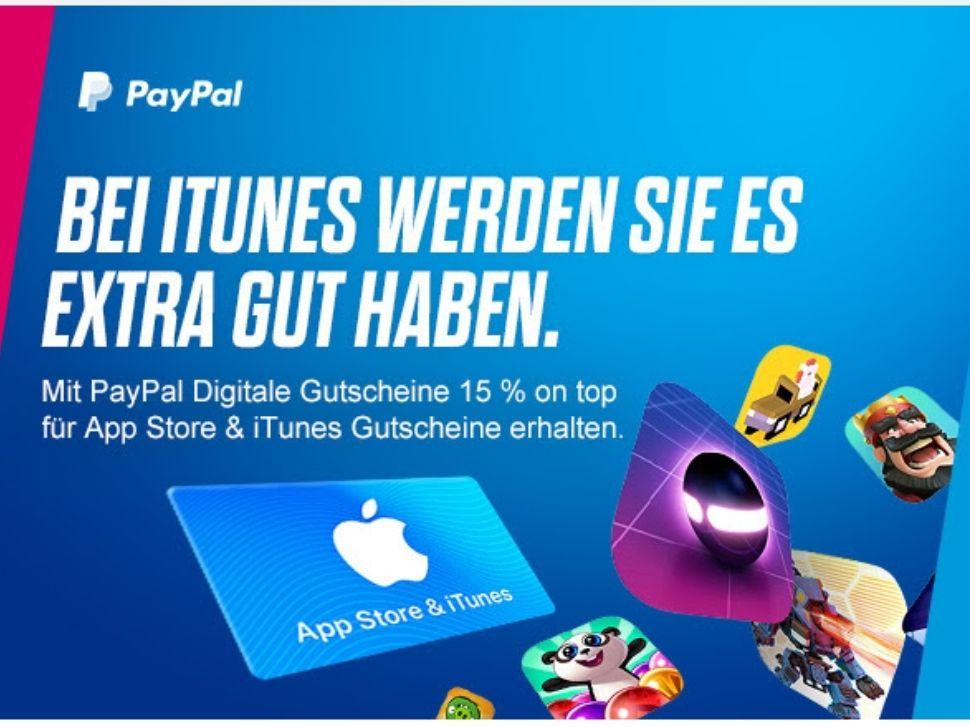 15 Prozent Extraguthaben auf App Store & iTunes-Gutscheine