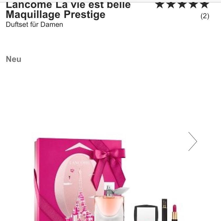 20% auf Make-up Lancôme La vie est belle Maquillage Prestige Duftset für Damen bei Flaconi