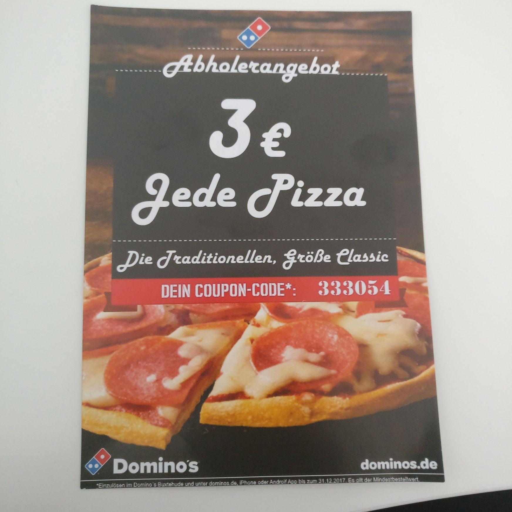 Dominos Pizza Buxtehude (eventuell auch deutschlandweit)