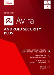 Avira Android Security Plus für 2,99 oder gratis
