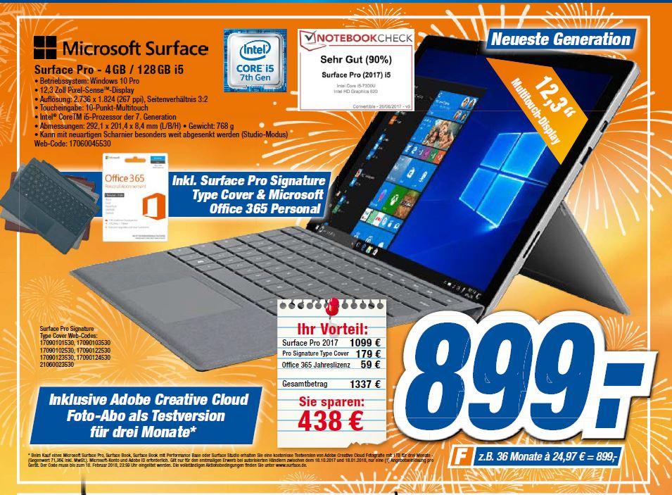 Surface 5 i5/128GB/4GB inklusive new TypeCover & Office 365 expert Gröblinghoff Onlineshop Filialen Neuss/Dormagen/Simmerath/Dinslaken/Xanten/Kamp-Lintfort