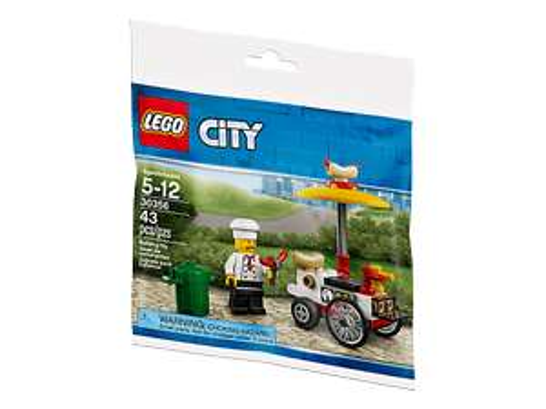 Gratis Lego Hotdog Wagen beim Lego City Einkauf ohne MBW [Lego] Shop