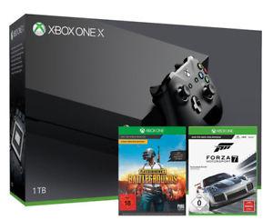 XBOX ONE X + Forza Motorsport 7 + Playerunknown's Battlegrounds bei Media Markt eBay