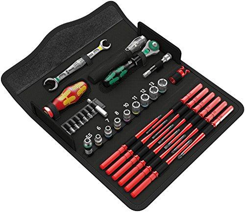 Wera Kraftform Kompakt W1 Wartung, Werkzeug-Set, 35-teilig, BESTPREIS [Amazon]