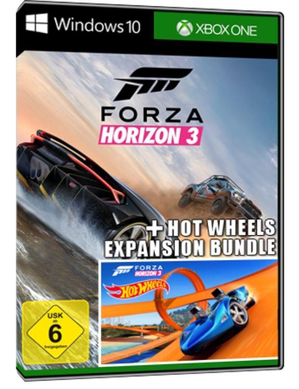 Forza Horizon 3 + Hot Wheels DLC Bundle Key (Xbox One / Windows 10)