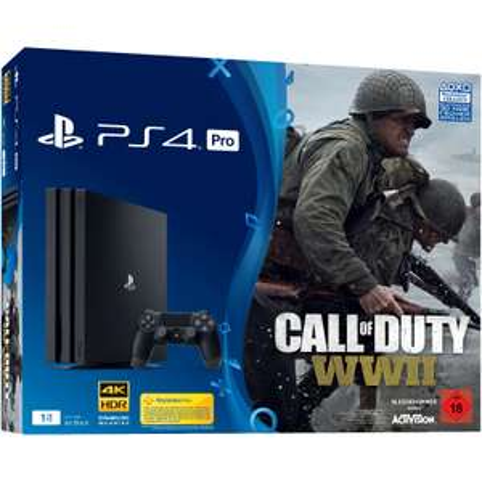 [Mediamarkt-Ebay] SONY PlayStation 4 Pro 1TB Schwarz + Call of Duty WWII + That's You Voucher