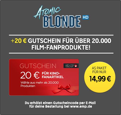20€ EMP-Gutschein + »Atomic Blonde« als HD-Kauffilm für insges. 14,99€ bei RakutenTV