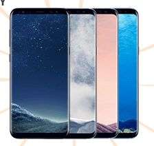 [Saturn und Mediamarkt-EbayAktion] SAMSUNG Galaxy S8+, Smartphone, 64 GB, 6.2 Zoll, LTE in 3 Farben für je 524,-€