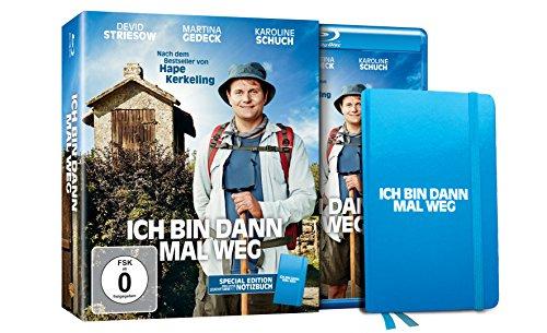 »Ich bin dann mal weg« Special Edition Blu-Ray inkl. Notizbuch bei Amazon (Prime)