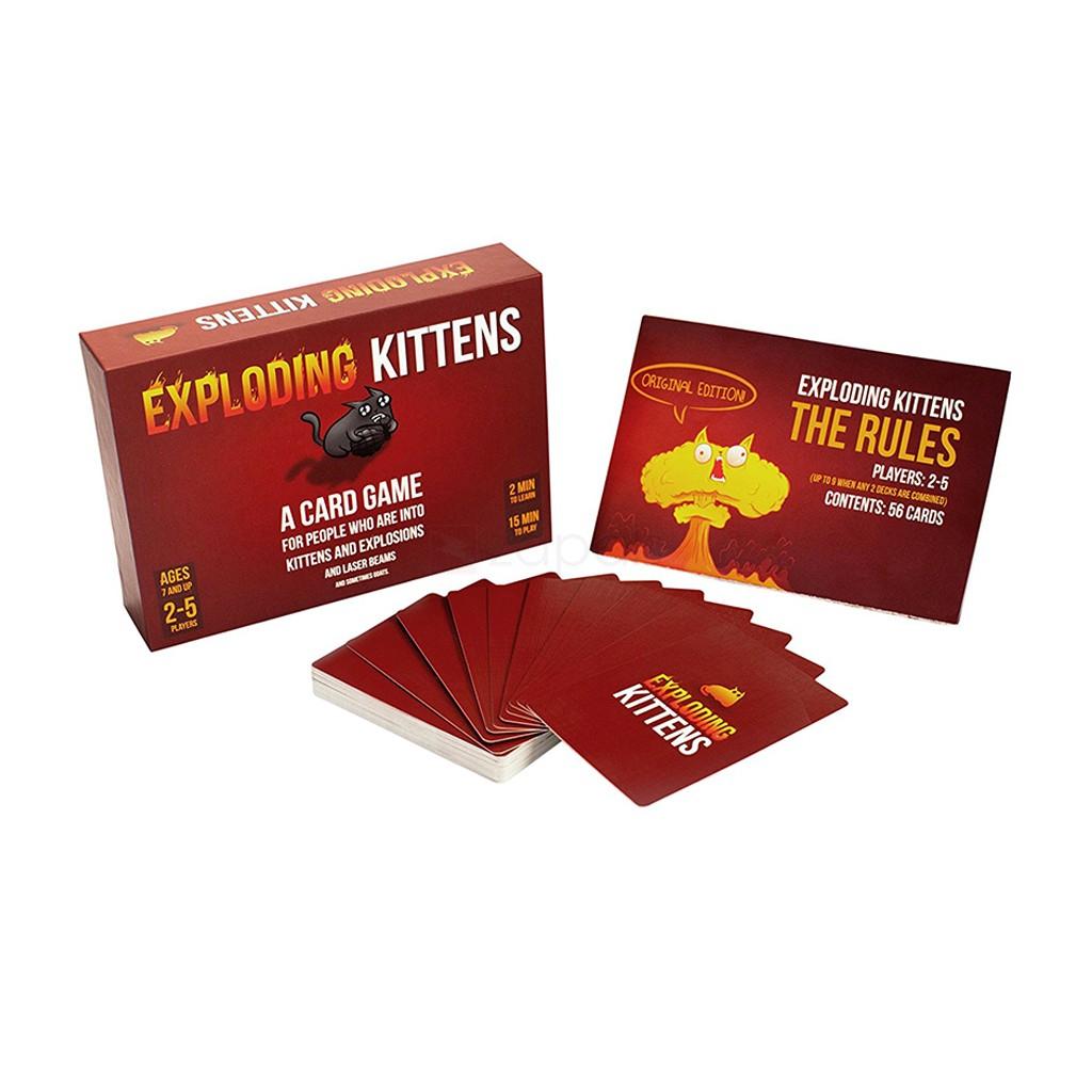 Exploding Kittens das Spiel für 5,02€ // NSFW Version ab 5,85€