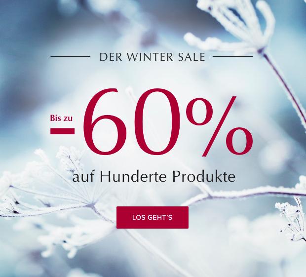 Bis zu 60% Rabatt im Winter Sale + 10€-Newsletter-Gutschein ab 50€ MBW bei Urbanara