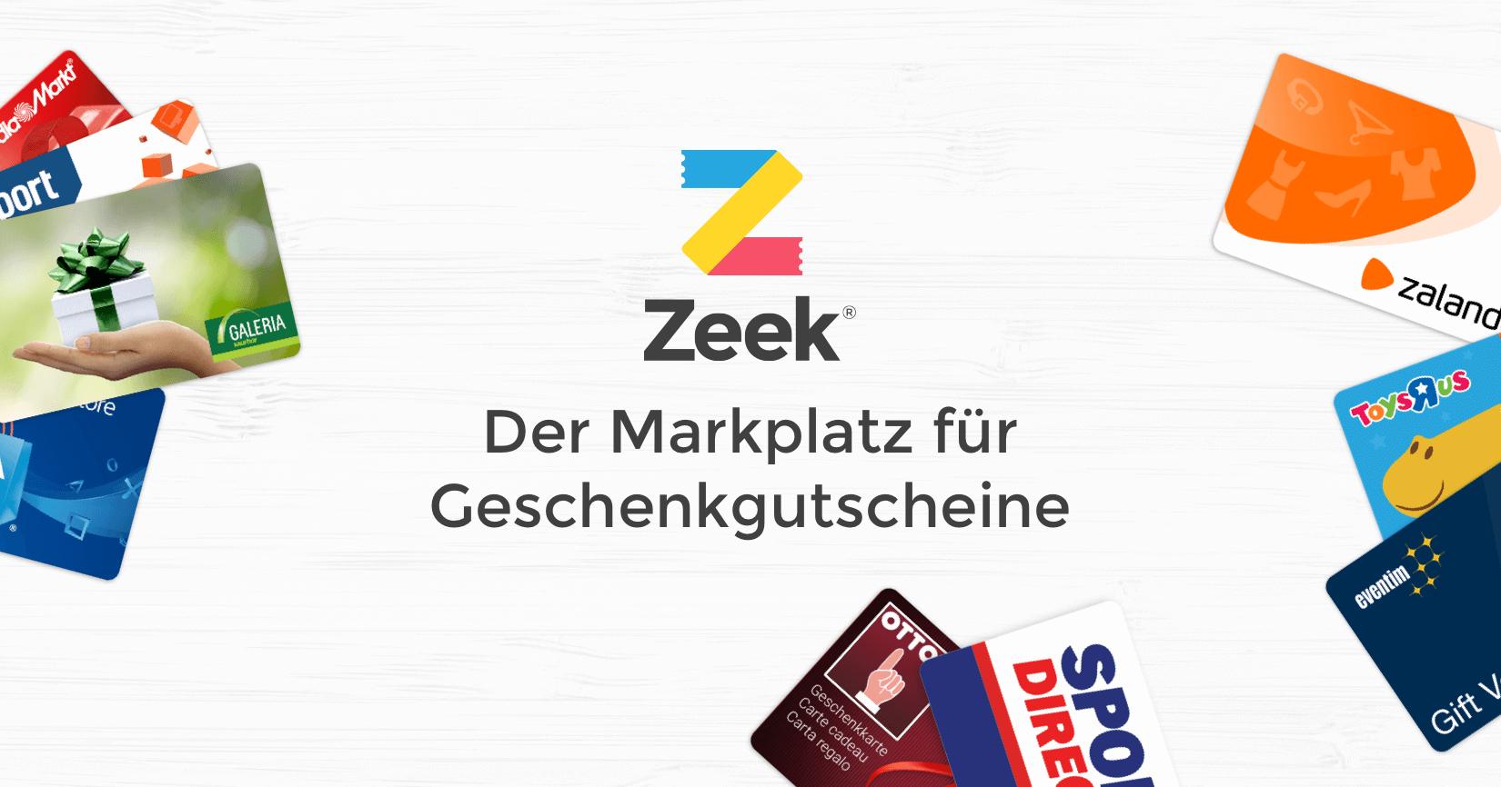 [Zeek] Silvester Cashback 5€ Cback für 50€ Umsatz, bis zu 30% Rabatt auf Geschenkkarten