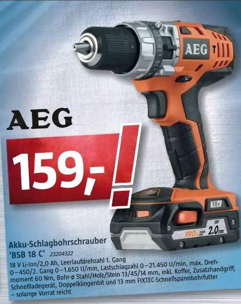 AEG Schlagbohrschrauber BSB 18 C