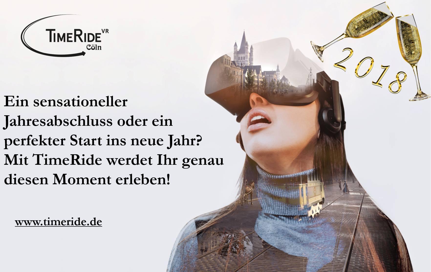 [Köln] 4 für 3 bei TimeRide VR am 31.12. & 1.1.