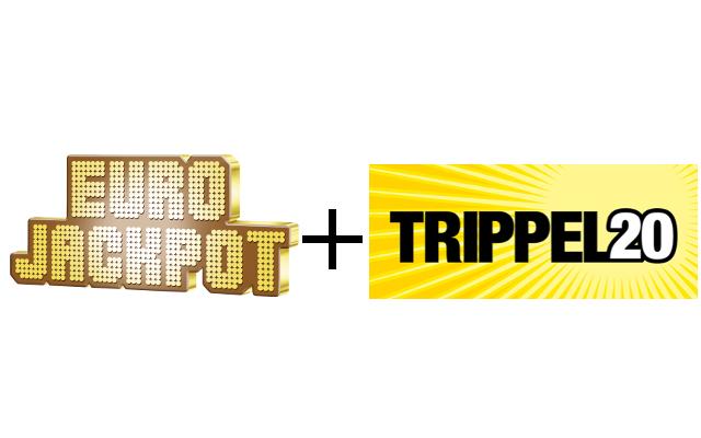 1 Tipp Eurojackpot + 5 Rubbellose Trippel 20 für Neu & Bestandskunden  [Jackpot.com]