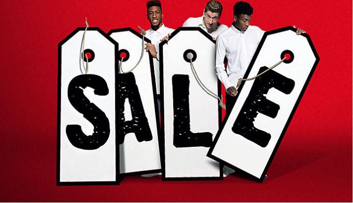 Sale im FC Bayern München Fanshop