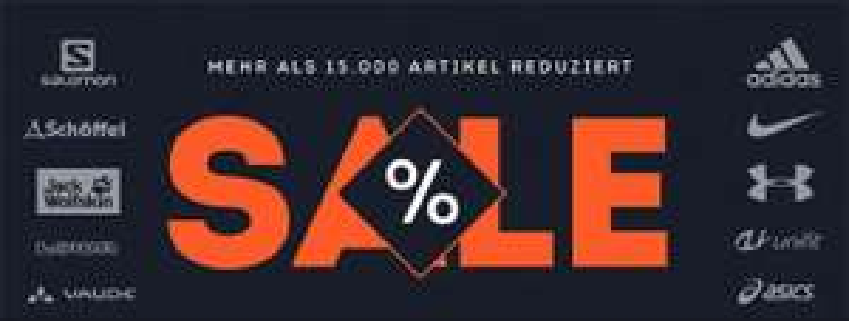 Sportscheck Sale mit bis zu 50% Rabatt