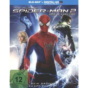 The Amazing Spider-Man 2: Rise of Electro (Blu-ray Mastered in 4K + UV Copy) für 4,50€ (Müller)