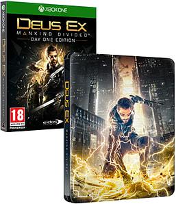 Deus Ex: Mankind Divided Day One Edition inkl. Steelbook (Xbox One & PS4) für je 10,10€ (Game UK)