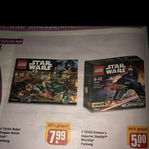 [REWE CENTER] Lego Star Wars Microfighters