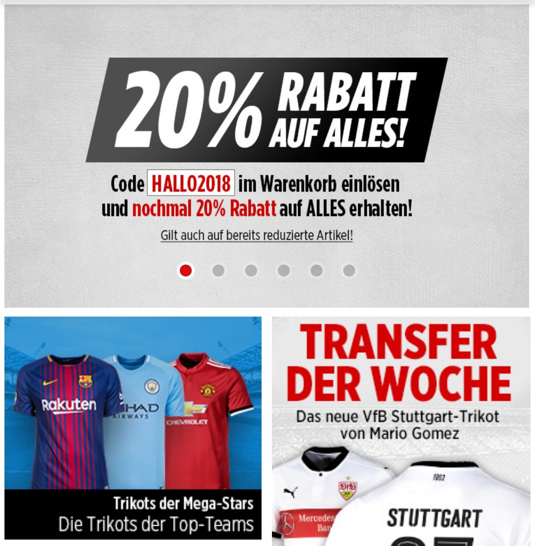 Bild Shop - 20% auf alles - Gutschein