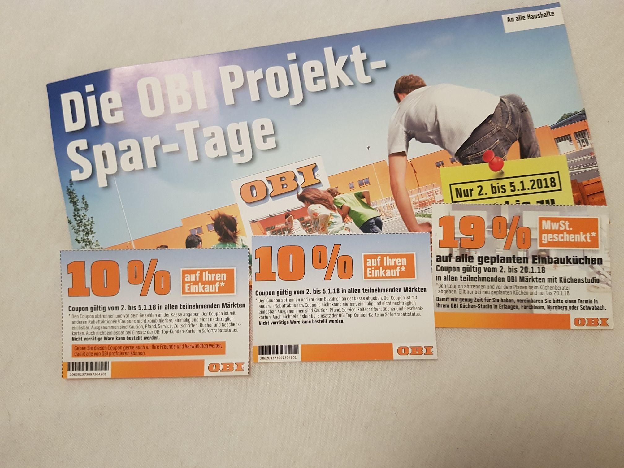 [OBI Lokal Nürnberg+Umgebung] 10% auf Alles