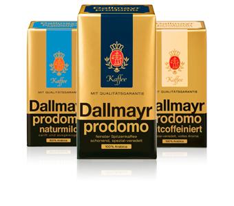 [Netto MD] Dallmayr Prodomo (auch naturmild und entcoffeiniert) Kaffee 500g für 3,79€