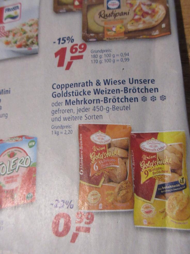 Real - Coppenrath und Wiese Brötchen mit Coupon