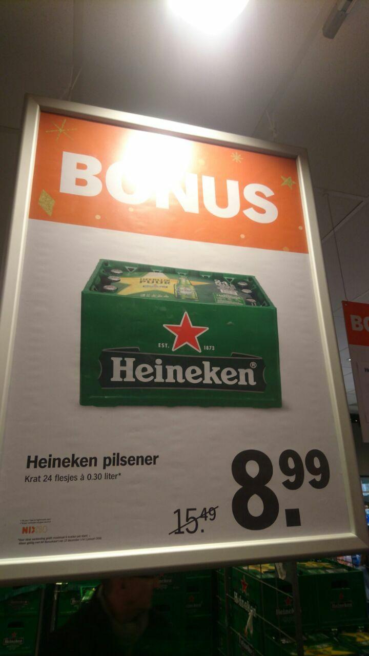 (NL) Albert Hein, Heineken 24x0,30