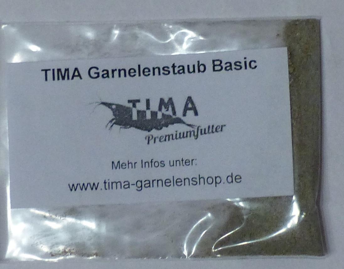 Tima-Garnelenshop Futterproben