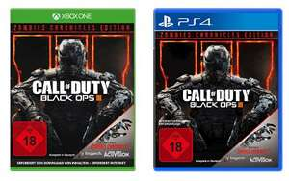 [Saturn] Call of Duty: Black Ops III Zombies Chronicles (Hauptspiel ist enthalten) - [Playstation 4 und Xbox One] für je 29,99€ bei Abholung