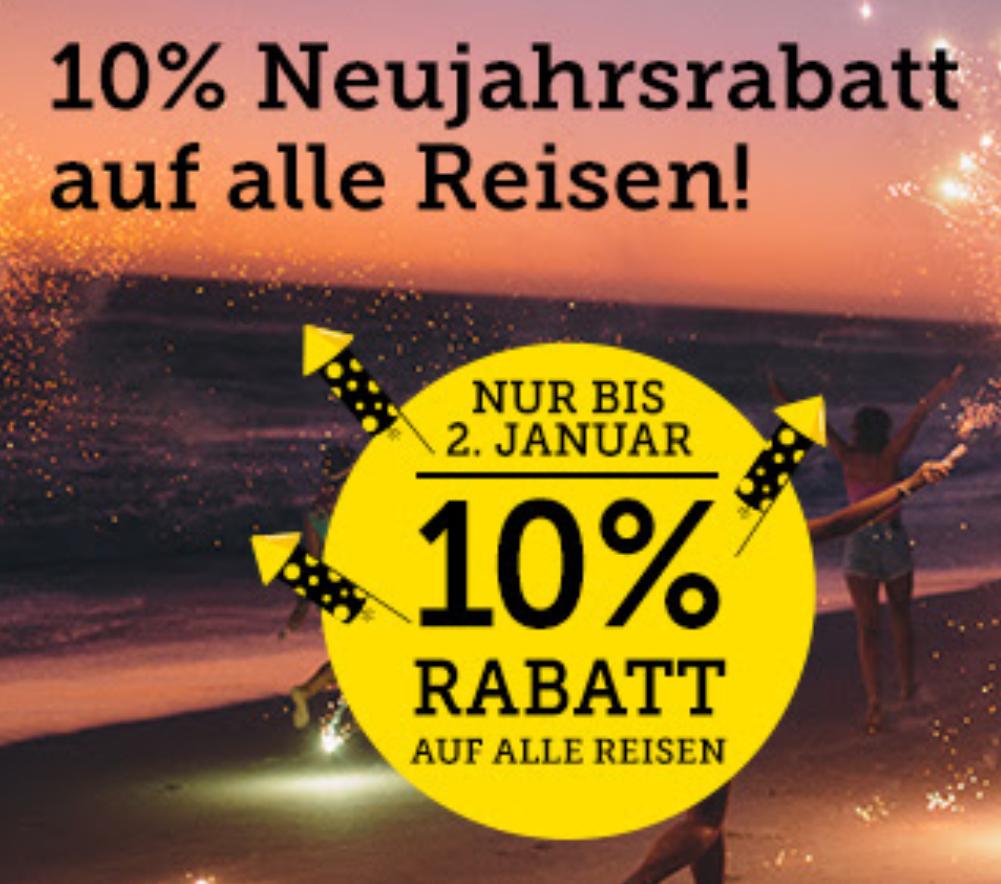 10% Rabatt auf alle HLX-Reisen