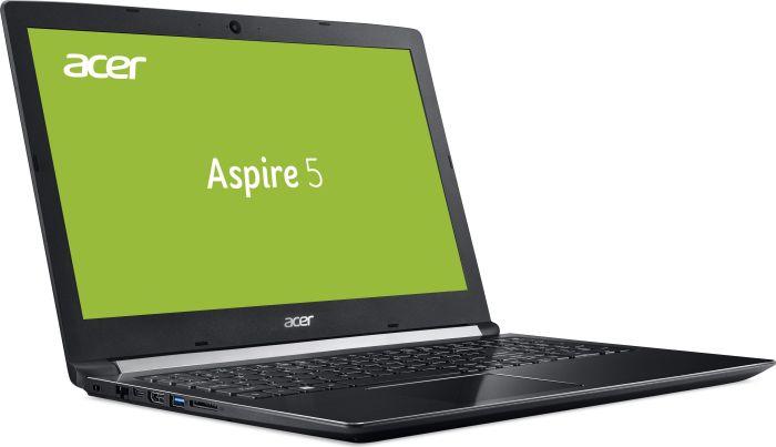 """Acer A515 mit Core i5-8250U, 8GB DDR4, 256GB SSD, 15,6"""" Full-HD IPS, beleuchtete Tastatur"""