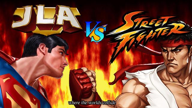 Justice League vs. Street Fighter kostenlos [PC]